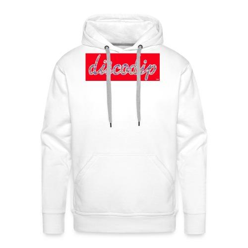 DISCODIP - Mannen Premium hoodie