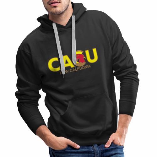 Cagu New Caldeonia - Sweat-shirt à capuche Premium pour hommes