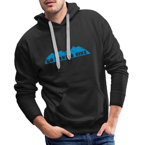 take a hike - Sweat-shirt à capuche Premium pour hommes