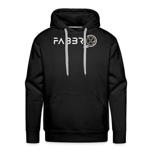 FABBRIXX white gold HQ SHOP - Felpa con cappuccio premium da uomo
