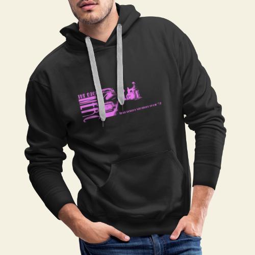 merc pink - Herre Premium hættetrøje