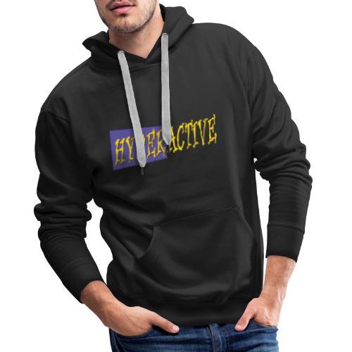 Hyperactive Graphics #1 - Men's Premium Hoodie
