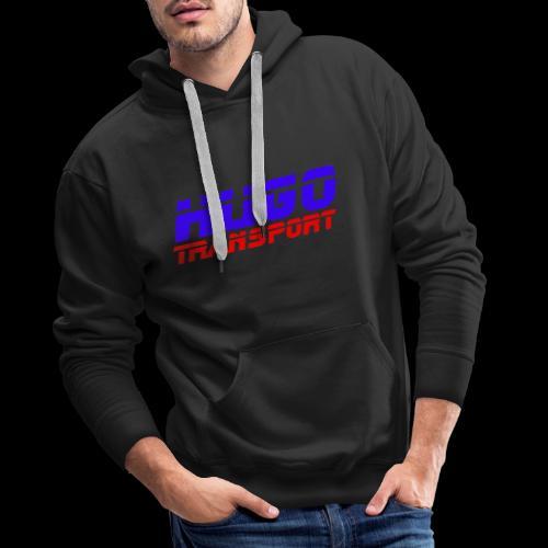 hugotransportfullrestransparent - Mannen Premium hoodie