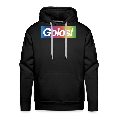 GOLOSI - Felpa con cappuccio premium da uomo