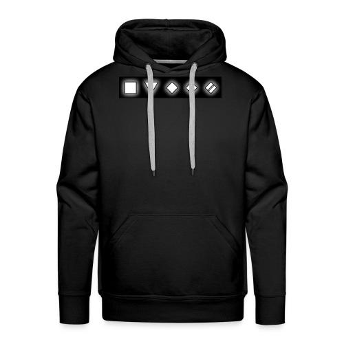 Przod png - Bluza męska Premium z kapturem