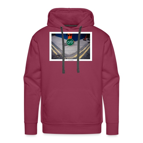 Go. - Sudadera con capucha premium para hombre