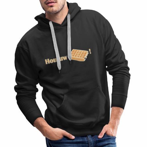 Hou Uw Wafel! - Mannen Premium hoodie