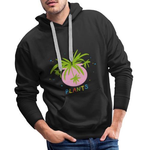 Plants are Life - Männer Premium Hoodie