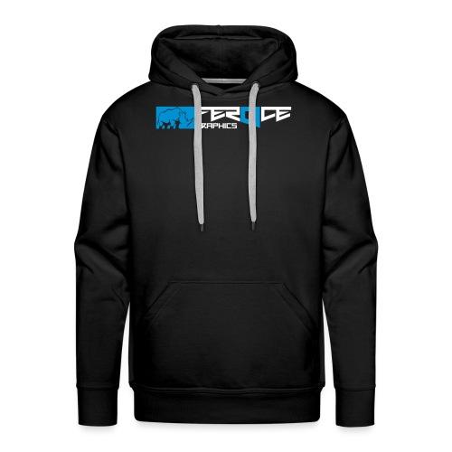logo_feroce - Sweat-shirt à capuche Premium pour hommes