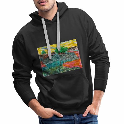 Piarapora Rio San Fransisco - Brasilien - Männer Premium Hoodie