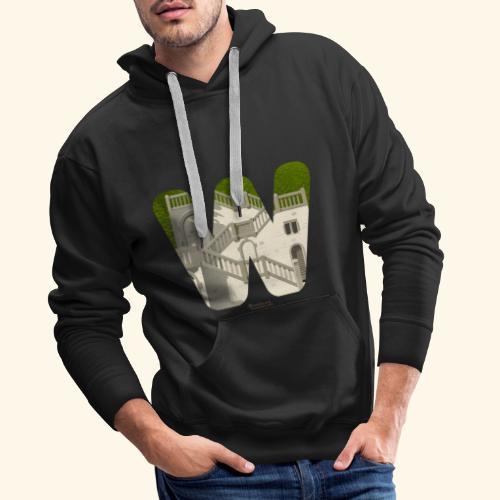 Wuppertal T-Shirt Vogelsauer Treppe - Männer Premium Hoodie