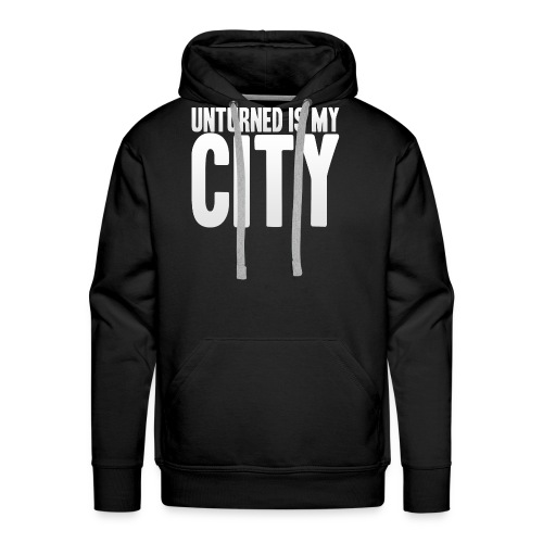 Unturned is my city - Men's Premium Hoodie