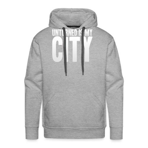 Unturned is my city - Men's Premium Hoodie