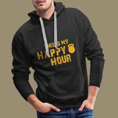 shirtsbydep happyhour - Mannen Premium hoodie