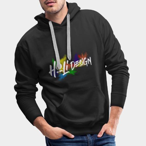 Holidesign Merch - Sweat-shirt à capuche Premium pour hommes