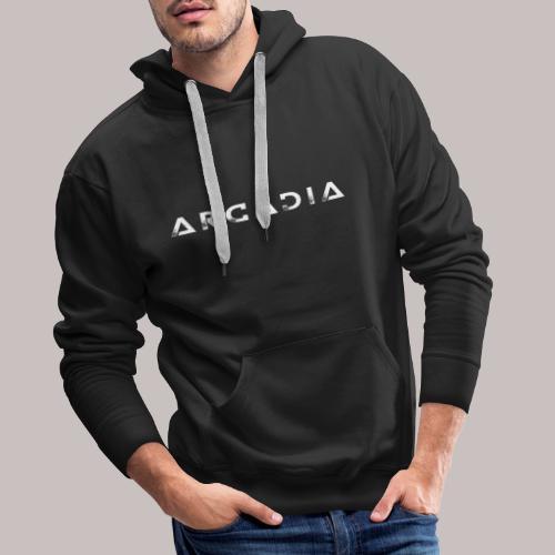 T-Shirt Arcadia Femme - Sweat-shirt à capuche Premium pour hommes