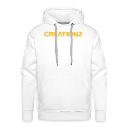WOORDMERK PUNT NL ZWART - Mannen Premium hoodie