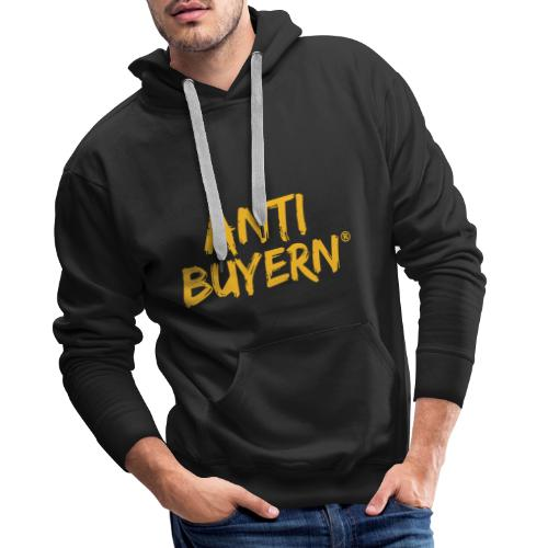 ANTI BUYERN YELLOW - Männer Premium Hoodie