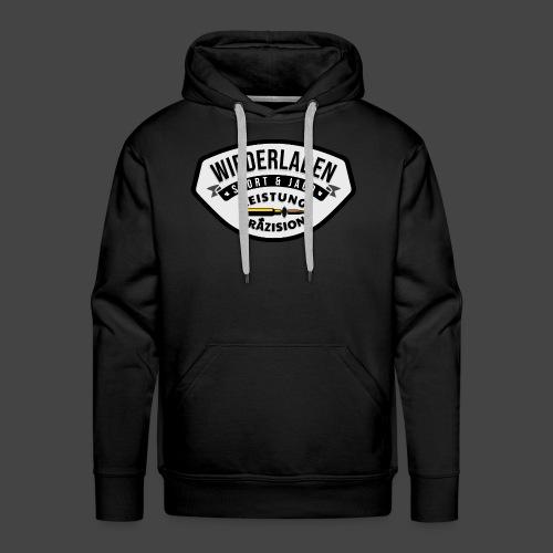 """Das """"Wiederladen""""-Shirt für Wiederlader - Männer Premium Hoodie"""