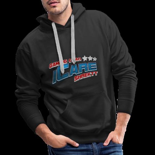 icare logo shrektt - Men's Premium Hoodie