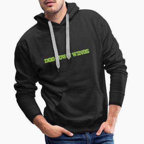 DW_Triangel_Klekse_White_ - Männer Premium Hoodie