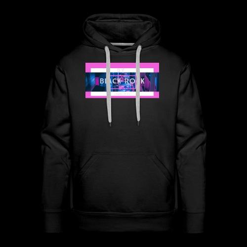 Roche noir - Sweat-shirt à capuche Premium pour hommes