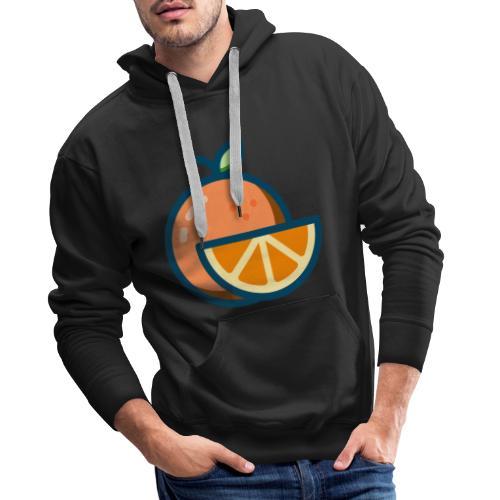 orange - Men's Premium Hoodie