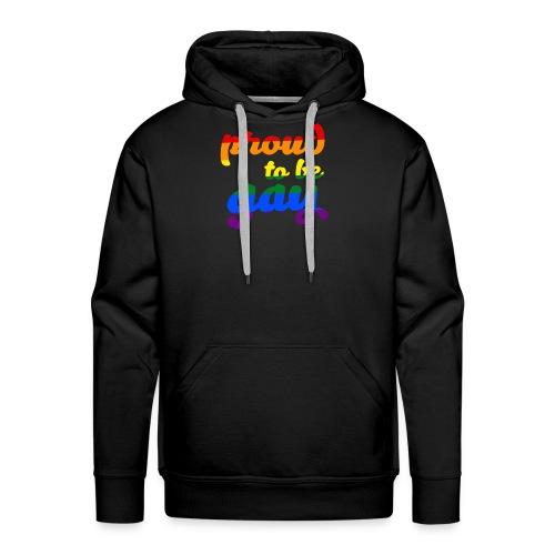 Stolz darauf, schwule LGBTQ-Unterstützung zu sein - Männer Premium Hoodie