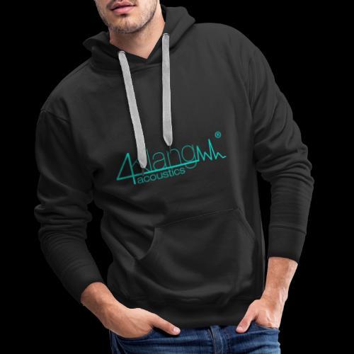 Logo - vierKlang acoustics - Männer Premium Hoodie