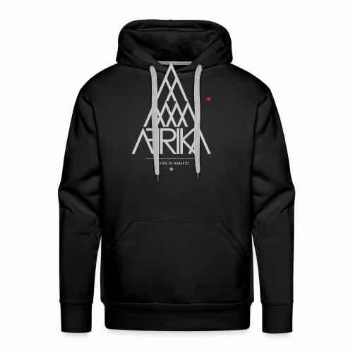 AFRIKA Pyramid Heart - Men's Premium Hoodie