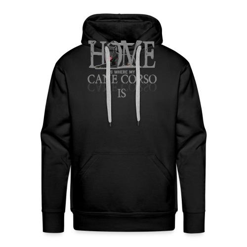 Cane Corso Hund Hündchen Hunderasse Geschenk Idee - Männer Premium Hoodie
