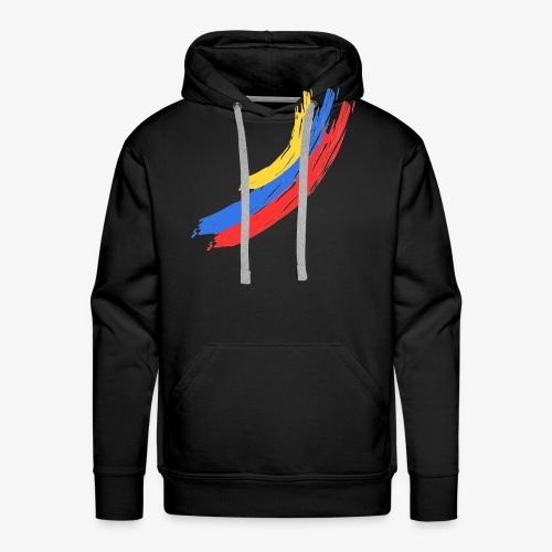 flag from venezuela - Sudadera con capucha premium para hombre