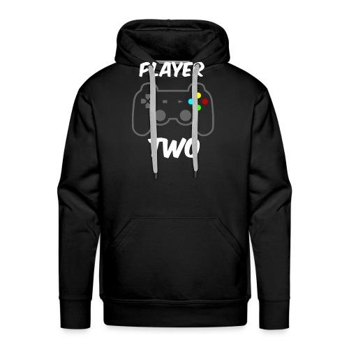 Player ONE - Player TWO Partnerlook - Männer Premium Hoodie