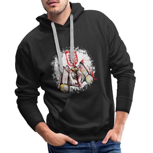 Vache d'hérens Eringer valais - Sweat-shirt à capuche Premium pour hommes