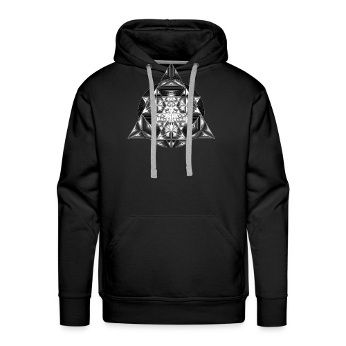 Sacred Triangle Dimensions - Men's Premium Hoodie