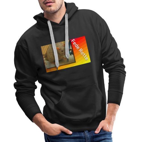 Fede Rotte - Herre Premium hættetrøje