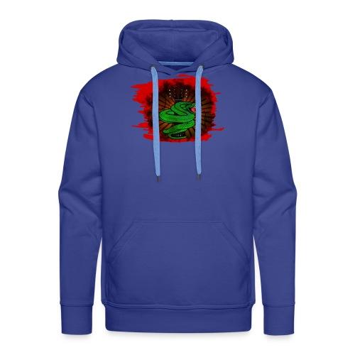 serpent guitare png - Sweat-shirt à capuche Premium pour hommes