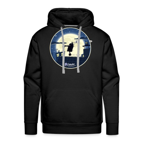 Emil und der Mond - Männer Premium Hoodie