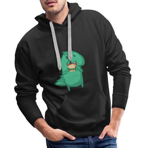 Dinosaurio - Sudadera con capucha premium para hombre