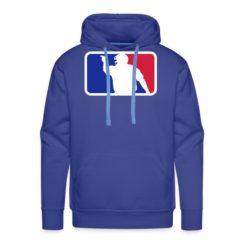 Baseball Umpire Logo - Men's Premium Hoodie