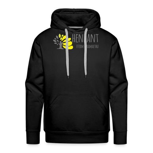 henbant logo - Men's Premium Hoodie