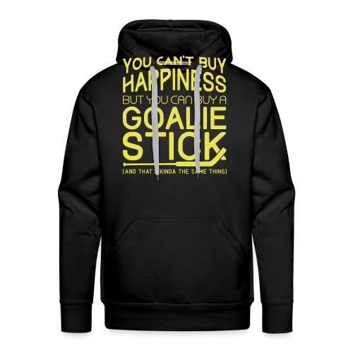You Can't Buy Happiness (Ice Hockey Goalie) - Men's Premium Hoodie