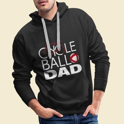 Radball | Cycle Ball Dad - Männer Premium Hoodie