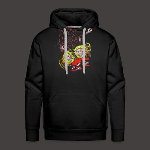 SPIDER KIWI - Sweat-shirt à capuche Premium pour hommes