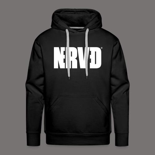 Official Nerved@ White Logotype - Men's Premium Hoodie