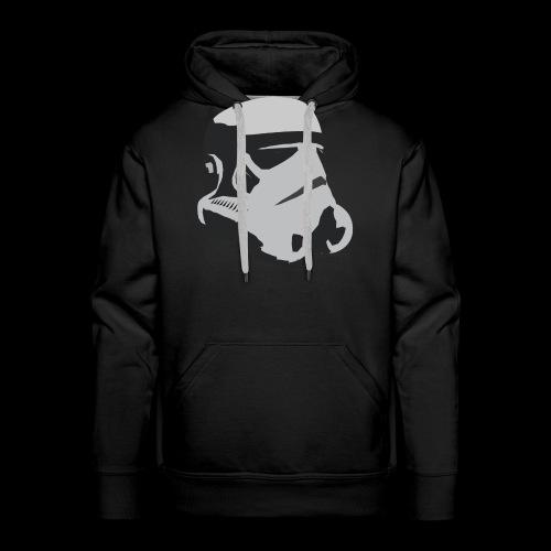 Stormtrooper Helmet - Men's Premium Hoodie