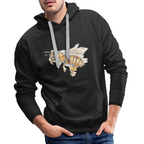 MG002 Bee | Honey | Save the Bees | Books bee - Men's Premium Hoodie