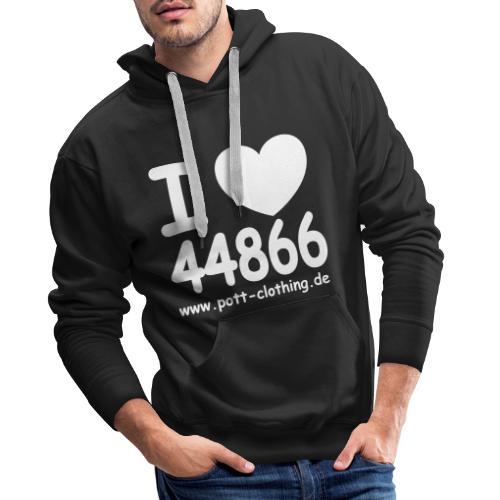 I LOVE 44866 - Männer Premium Hoodie