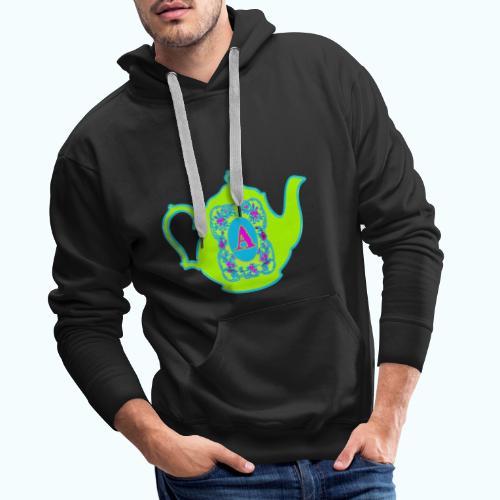 Wonders & Madness Tea Party - Men's Premium Hoodie
