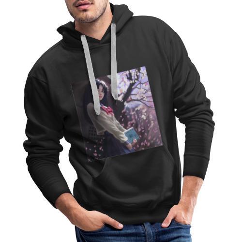 Manga - Sweat-shirt à capuche Premium pour hommes